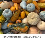 Fall Harvest Background With...