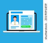 sign up  digital registration...