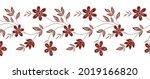 vector seamless floral border... | Shutterstock .eps vector #2019166820
