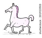 cartoon horse | Shutterstock . vector #201923503