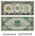 25th birthday  anniversary.... | Shutterstock .eps vector #2019249539