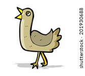 cartoon bird | Shutterstock . vector #201930688