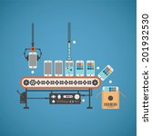 vector concept of hardware and... | Shutterstock .eps vector #201932530