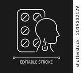 lozenges for sore throat white... | Shutterstock .eps vector #2019332129