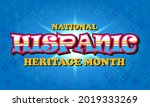 national hispanic heritage... | Shutterstock .eps vector #2019333269