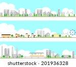 city | Shutterstock .eps vector #201936328