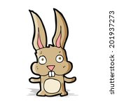 cartoon rabbit | Shutterstock . vector #201937273