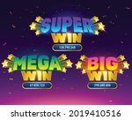 big win. mega win with retro...