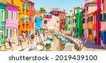 Burano  Italy   2 June  2021 ...