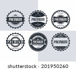 premium badge and label theme | Shutterstock .eps vector #201950260
