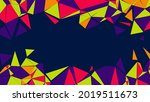 abstract colorful geometric...   Shutterstock .eps vector #2019511673