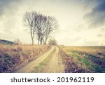 vintage photo of rural sandy... | Shutterstock . vector #201962119