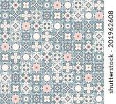 seamless pattern illustration... | Shutterstock .eps vector #201962608