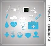 medical design | Shutterstock .eps vector #201965134