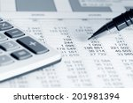 financial accounting  | Shutterstock . vector #201981394