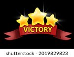 victory game ui design element  ...