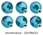 stop the world | Shutterstock .eps vector #20198632