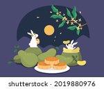mid autumn festival design....   Shutterstock .eps vector #2019880976