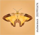 Butterfly Geometric Design  Low ...