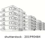 building house  | Shutterstock . vector #201990484