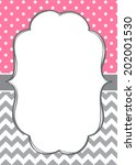 baby girl invitation template...