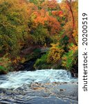 minnehaha creek at fall in...   Shutterstock . vector #20200519