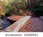 bridge over minnehaha creek in...   Shutterstock . vector #20200531