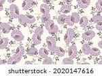 seamless floral pattern based...   Shutterstock .eps vector #2020147616