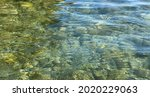 Clear Sea Water Surface....