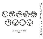 achievement and reward rings....