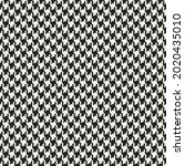 Dog Tooth Check Pattern Vector...