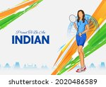 illustration of indian... | Shutterstock .eps vector #2020486589
