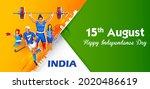 illustration of indian... | Shutterstock .eps vector #2020486619
