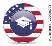 education american icon  | Shutterstock . vector #202056778