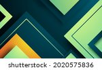 abstract triangle dimension...   Shutterstock .eps vector #2020575836