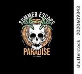 Beautiful Skull Summer Escape...