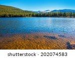 Mountain Lake In Colorado. Ech...