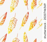 seamless pattern with boho...   Shutterstock .eps vector #2020746569