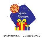 happy raksha bandhan... | Shutterstock .eps vector #2020912919