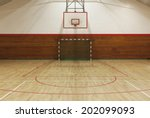 View From Center Court In Old...