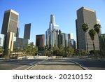 los angeles financial district   Shutterstock . vector #20210152