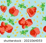 textile pattern from... | Shutterstock .eps vector #2021064053