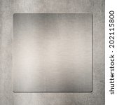 background of metal template... | Shutterstock . vector #202115800
