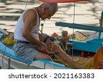 Santorini  Greece July 2020 ...