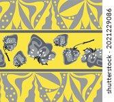 textile pattern of geometric... | Shutterstock .eps vector #2021229086