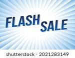 flash sale word concept vector...