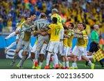 belo horizonte  brazil   june... | Shutterstock . vector #202136500