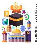 Muslim Icons Like Black Kaaba...