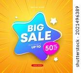 big sale star shape business... | Shutterstock .eps vector #2021496389