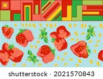 bright abstract pattern... | Shutterstock .eps vector #2021570843